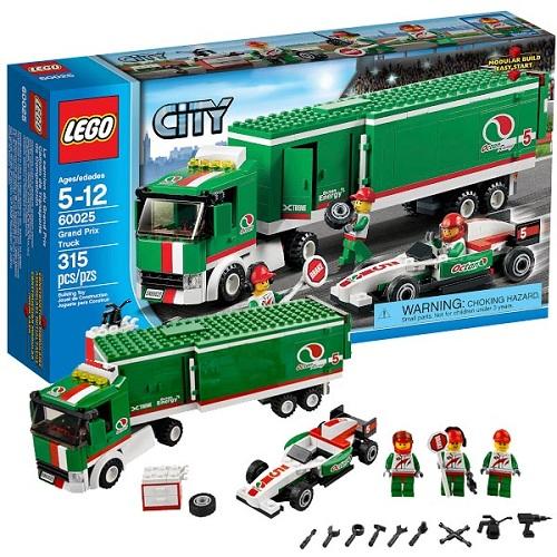 Lego City 60025 Конструктор Лего Город Грузовик Гран При