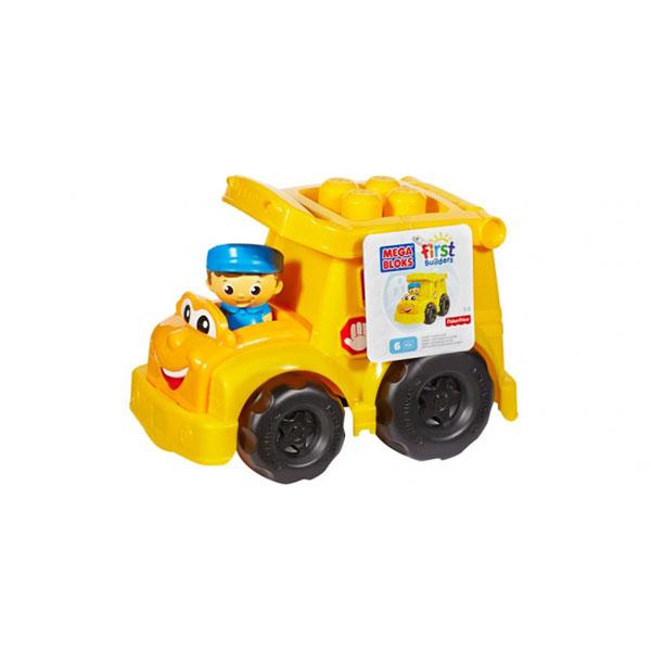 Mattel Mega Bloks CND83 Мега Блокс Маленькие транспортные средства