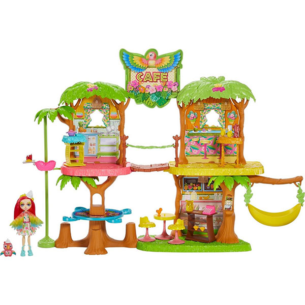 Mattel Enchantimals GNC57 Джунгли-кафе
