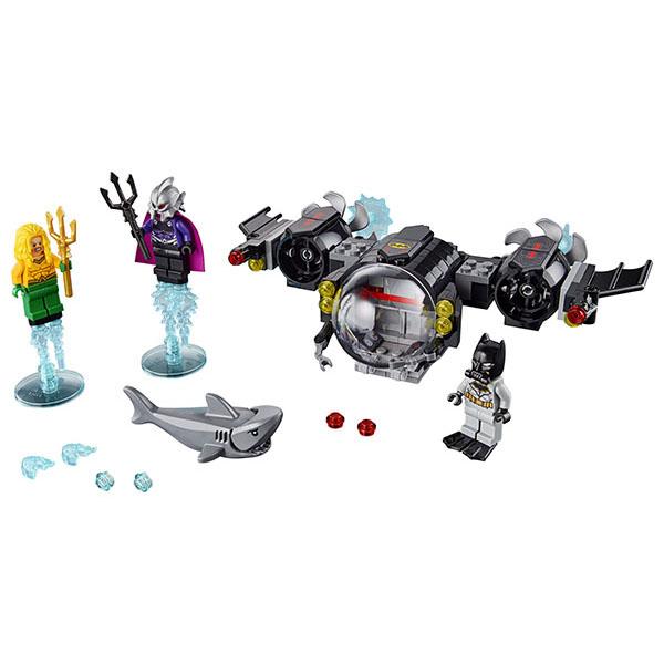 Lego Super Heroes 76116 Конструктор Лего Супер Герои Подводный бой Бэтмена lego super heroes опасное ограбление