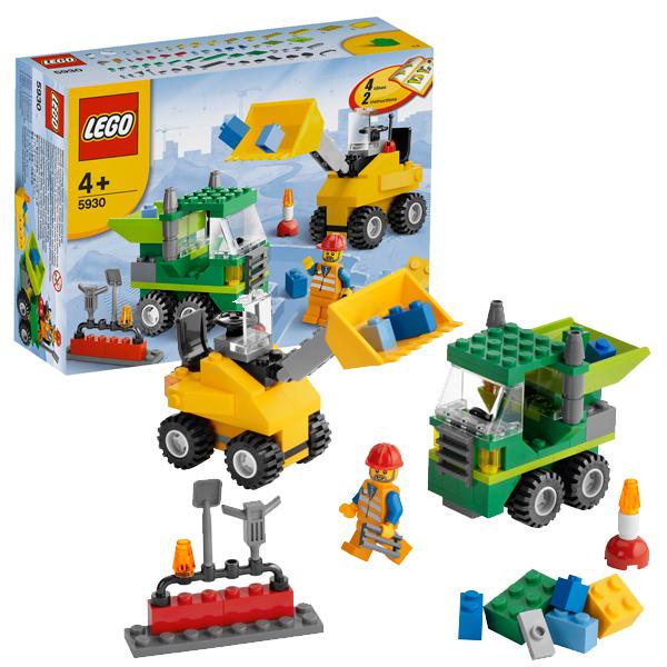Конструктор Лего Криэйтор 5930 Конструктор Строим дороги