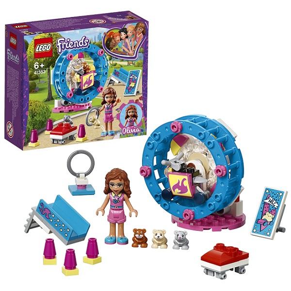 LEGO Friends 41383 Конструктор ЛЕГО Подружки Игровая площадка для хомячка Оливии