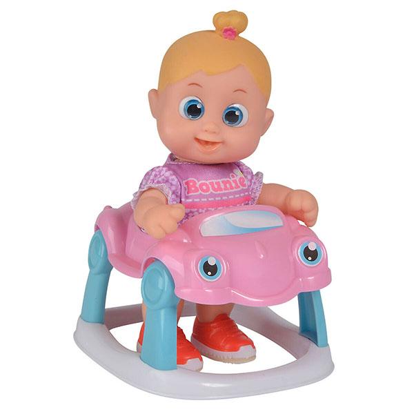 Bouncin' Babies 803001 Кукла Бони с машиной, 16 см