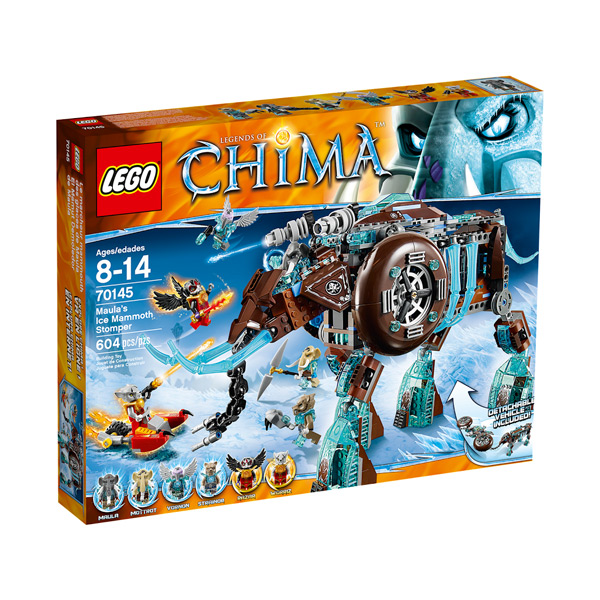 Лего Чима 70145 Конструктор Ледяной мамонт-штурмовик Маулы