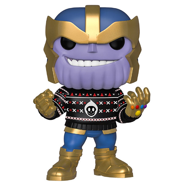 Funko 43336F Фигурка Funko POP! Bobble: Marvel: Holiday: Thanos