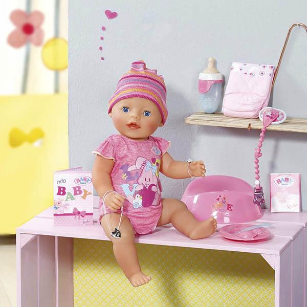 Zapf Creation Baby born 823-163 Бэби Борн Кукла Интерактивная, 43 см