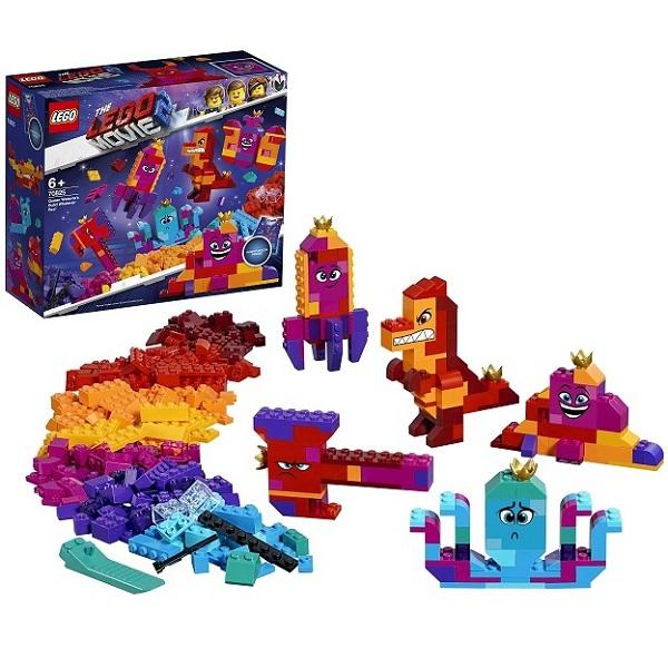 LEGO Movie 2 70825 Конструктор ЛЕГО Фильм 2 Шкатулка королевы Многолики Собери что хочешь детское лего sluban airbus lego b0366