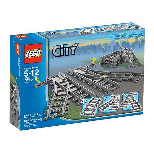 Lego City 7895 Конструктор Лего Город Железнодорожные стрелки
