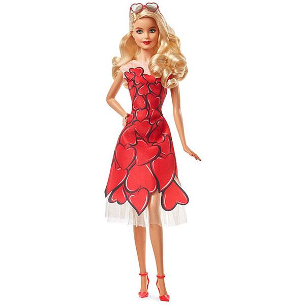 цена на Mattel Barbie FXC74 Барби Коллекционная кукла в в красном платье