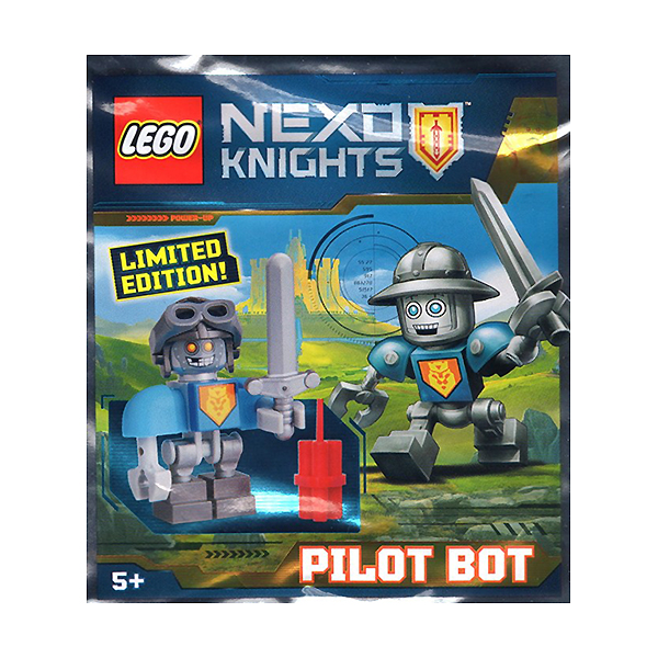 Lego Nexo Knights 271611 Конструктор Лего Нексо Пилот