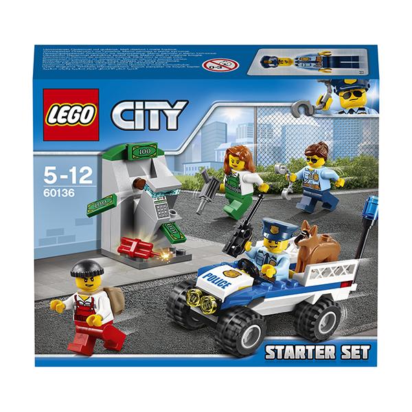 Lego City 60136 Конструктор Лего Город Набор для начинающих Полиция