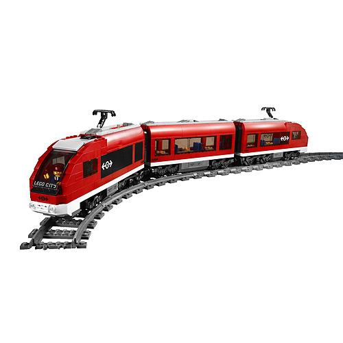 LEGO City 7938 Конструктор ЛЕГО Город Пассажирский поезд
