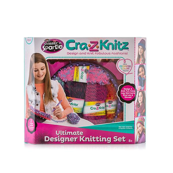 Cra-Z-Knitz 17568A Крейзи Нитс Вязальная станция средняя