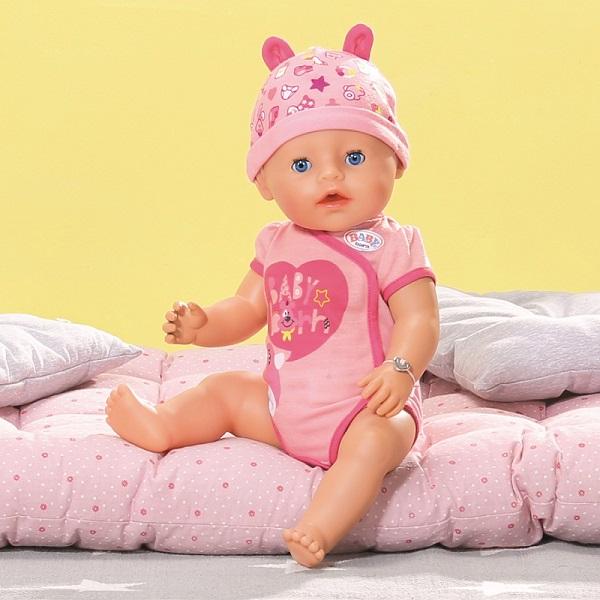 Zapf Creation Baby born 824-368 Бэби Борн Кукла Интерактивная, 43 см