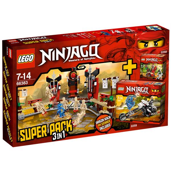 Lego Ninjago 66383 Конструктор Лего Ниндзяго Подарочный Суперпэк Ниндзяго версия 1