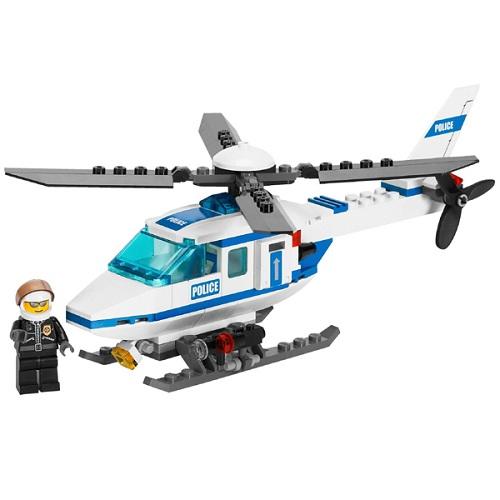 LEGO City 7741 Конструктор ЛЕГО Город Полицейский вертолёт