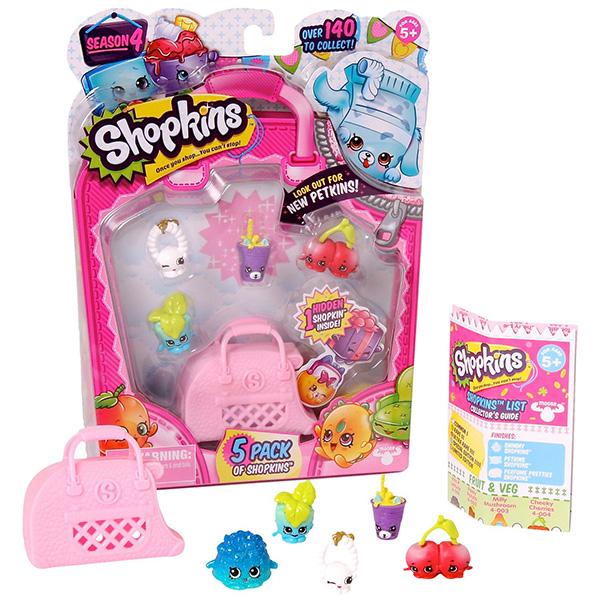 Shopkins 56079 Шопкинс 5 шт. в блистере