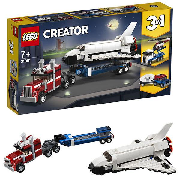 Lego Creator 31091 Конструктор Лего Криэйтор Транспортировщик шаттлов цена