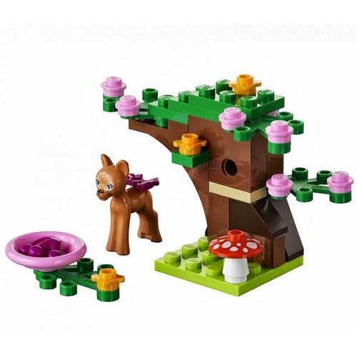 Лего Подружки 41023 Конструктор Олененок в лесу