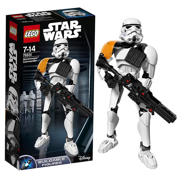 Lego Star Wars 75531 Конструктор Лего Звездные Войны Командир штурмовиков конструктор lego constraction star wars командир штурмовиков 75531