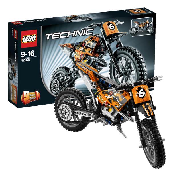 Модель Лего Мотоцикл 42007 Инструкция По Сборке