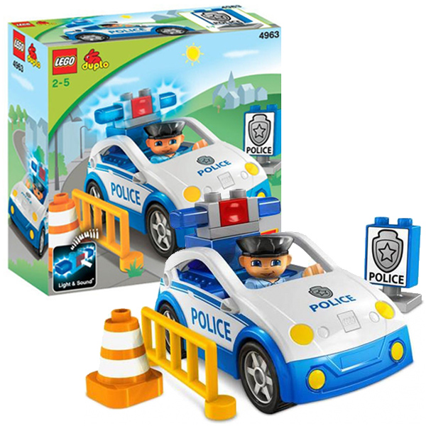 Lego Duplo 4963 Полицейский патруль