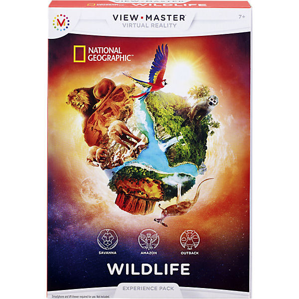 "Mattel View Master DLL71 Набор визуализации ""National Geographic"""