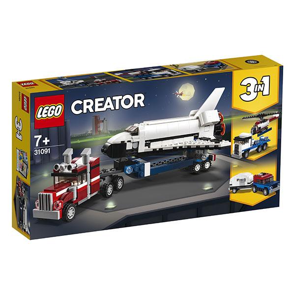 LEGO Creator 31091 Конструктор ЛЕГО Криэйтор Транспортировщик шаттлов