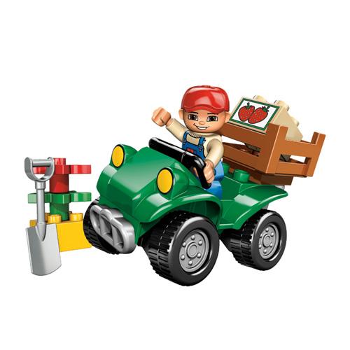 Лего Дупло 5645 Фермерский квадроцикл