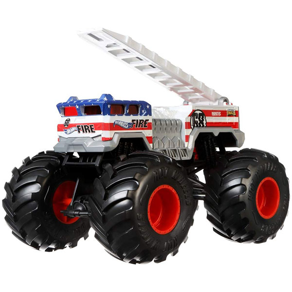 Mattel Hot Wheels GBV29 Хот Вилс Монстр трак 1:24 5 ALARM