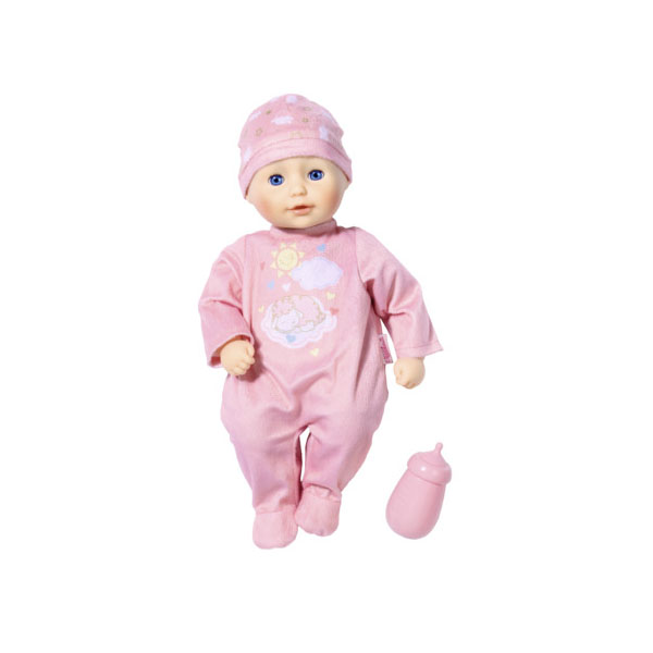Zapf Creation my first Baby Annabell 701-836 Бэби Аннабель Кукла с бутылочкой, 30 см zapf creation baby annabell 702 031 бэби аннабель одежда цветочная коллекция делюкс