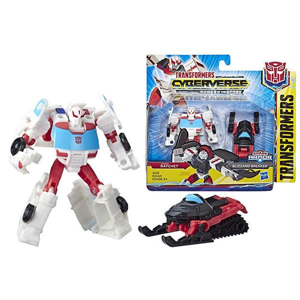 Hasbro Transformers E4219/E4299 Трансформеры КИБЕРВСЕЛЕННАЯ СПАРК АРМОР Рэтчет 13 см. hasbro войны титанов вояджер дженерейшнс трансформеры b7769 b6459
