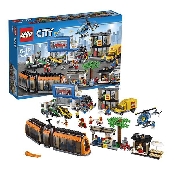Lego City 60097 Лего Город Городская площадь remax 2 in1 mini bluetooth 4 0 headphones usb car charger dock wireless car headset bluetooth earphone for iphone 7 6s android