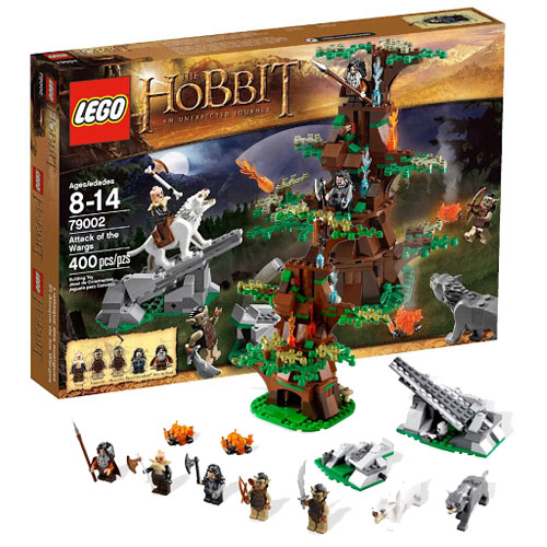 Lego Hobbit 79002_1 Хоббит Атака волков-варгов