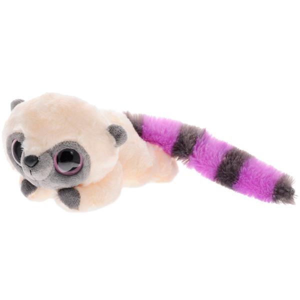 Юху и его друзья 16-101 Юху фиолетовый лежачий, 16 см игрушка мягкая юху и друзья лемур лемми лежачий 23 см