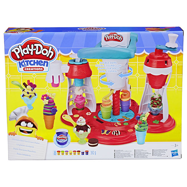 Hasbro Play-Doh E1935 Игровой набор Мир Мороженного