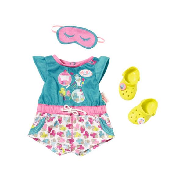 Zapf Creation Baby born 822-470 Бэби Борн Пижамка с обувью zapf creation baby born 822 159 бэби борн ботиночки 2 пары в ассортименте