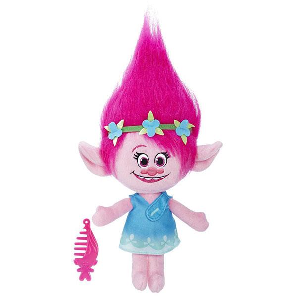 Hasbro Trolls B7772 Тролли Говорящая Поппи игрушка trolls тролли в закрытой упаковке b6554eu4