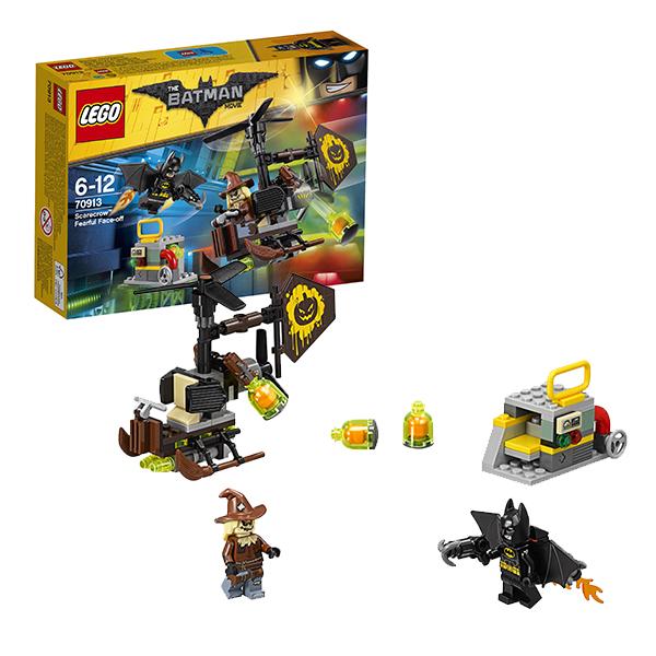Lego Batman Movie 70913 Лего Фильм Бэтмен: Схватка с Пугалом lego batman movie 70913 лего фильм бэтмен схватка с пугалом