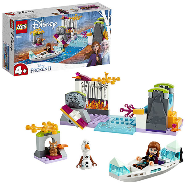 LEGO Disney Princess 41165 Конструктор ЛЕГО Принцессы Дисней Экспедиция Анны на каноэ lego disney princess 43178 конструктор лего принцессы дисней праздник в замке золушки