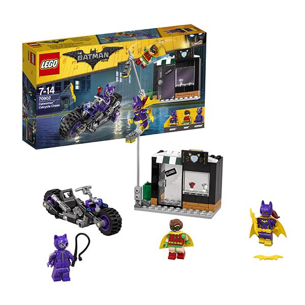 Lego Batman Movie 70902 Конструктор Лего Фильм Бэтмен: Погоня за Женщиной-кошкой lego batman movie блокнот бэтмен96 листов в линейку