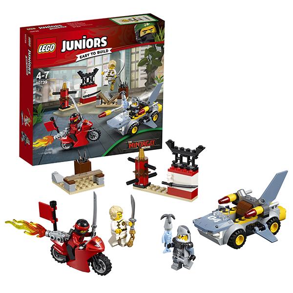 Lego Juniors 10739 Лего Джуниорс Ниндзяго: Нападение акулы серова м клад белой акулы