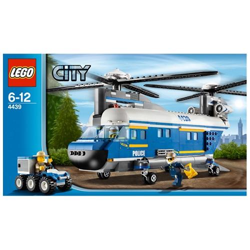 LEGO City 4439 Конструктор ЛЕГО Город Грузовой вертолёт
