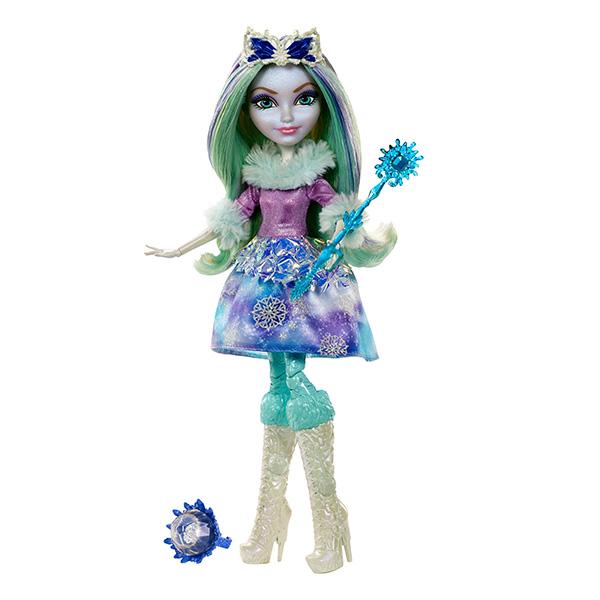 "Mattel Ever After High DKR67_9 Кукла ""Заколдованная зима"" Кристал Винтер"