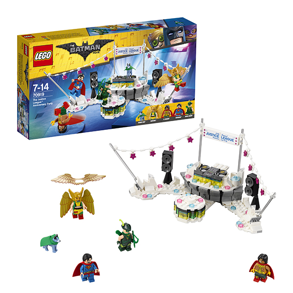 Lego Batman Movie 70919 Конструктор Лего Фильм Бэтмен: Вечеринка Лиги Справедливости huong movie 30cm batman v superman dawn of justice the dark night batman armored blinde pvc figure collectible model toys