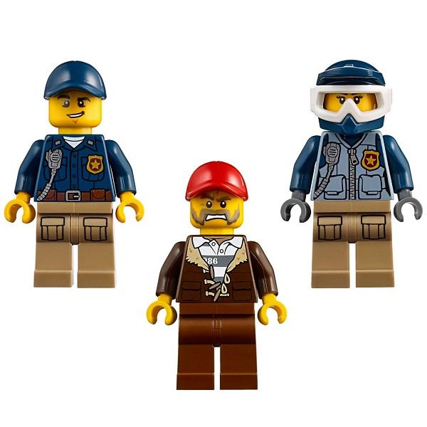 Lego City 60172 Конструктор Лего Город Погоня по грунтовой дороге