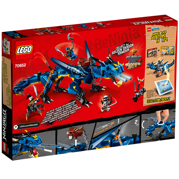 LEGO Ninjago 70652 Конструктор ЛЕГО Ниндзяго Вестник Бури