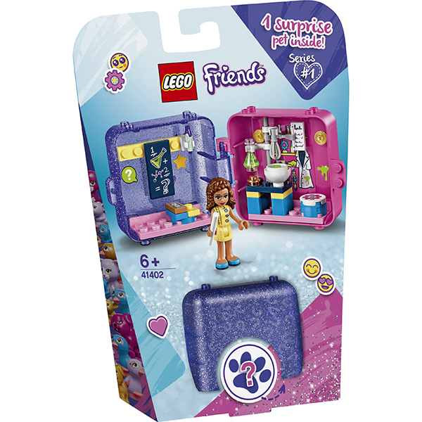LEGO Friends 41402 Конструктор ЛЕГО Подружки Игровая шкатулка Оливии