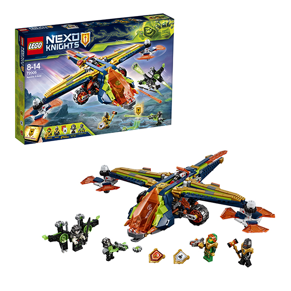 Lego Nexo Knights 72005 Лего Нексо Аэро-арбалет Аарона lego горный внедорожник 70589