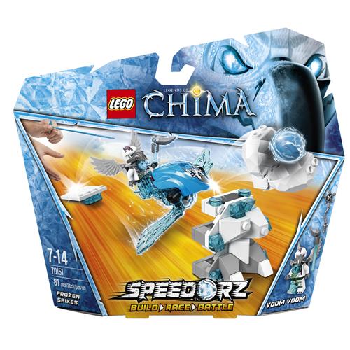 Лего Legends of Chima 70151 Оледенелые шипы